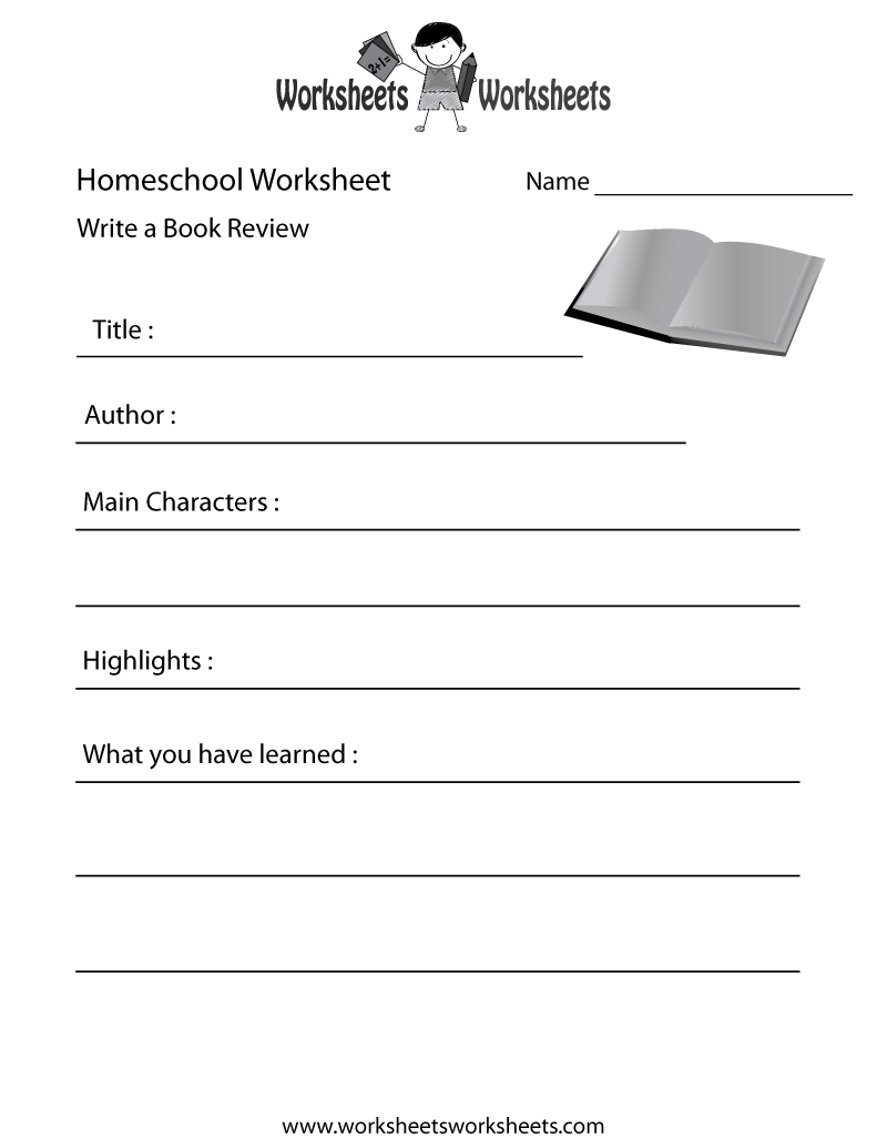Homeschool English Worksheet - Free Printable Educational Worksheet | Free Homeschool Printable Worksheets