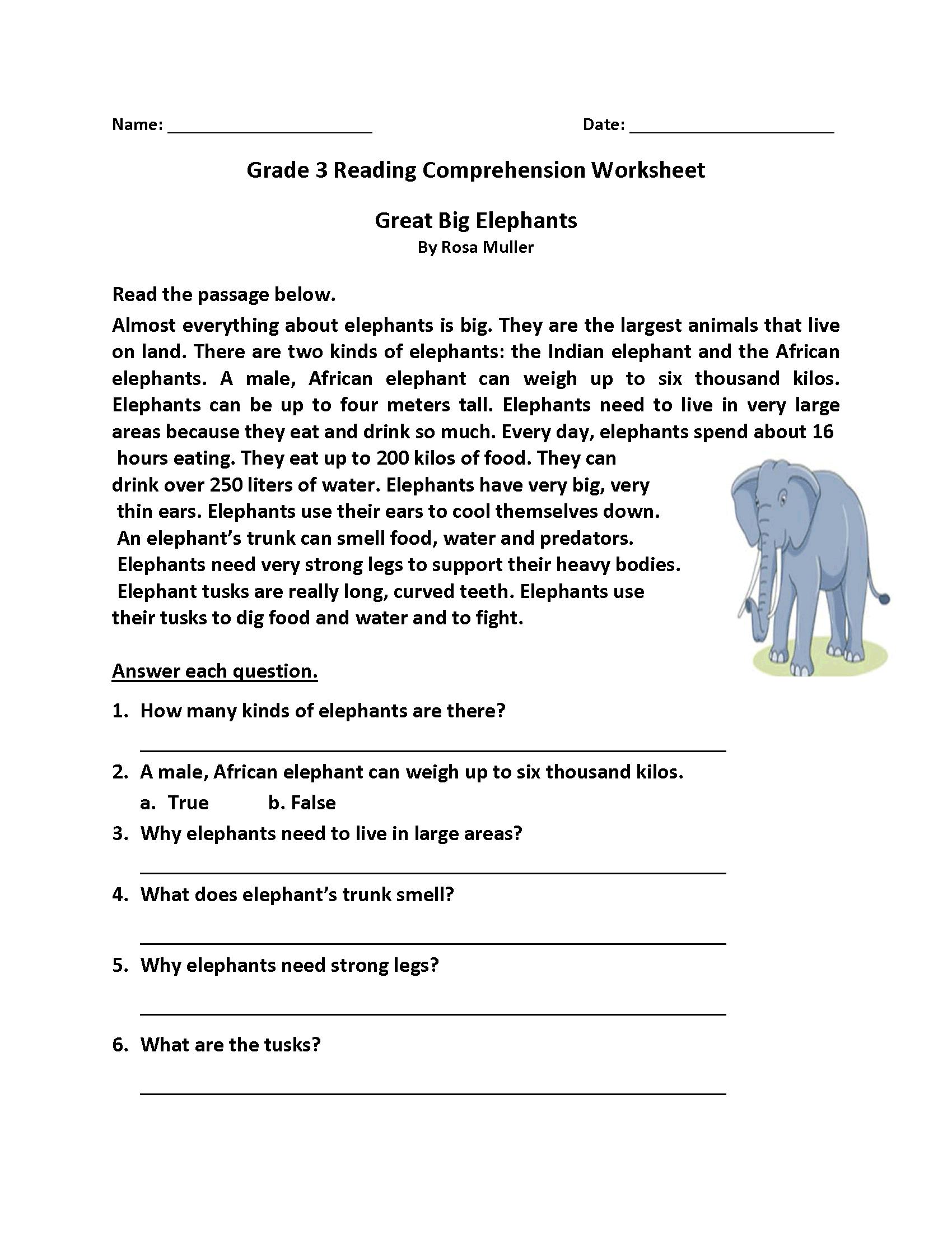 Homework Sheets Grade 3 Reading | Learning Printable | Reading | Year 3 Literacy Worksheets Printable
