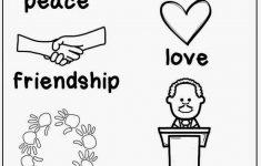 Free Printable Martin Luther King Worksheets For Kindergarten