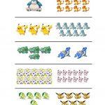 How Many Pokemon Do You See Worksheet   Free Esl Printable | Pokemon Worksheets Printable