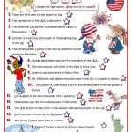 How Much Do You Know About The Usa?   Quiz Worksheet   Free Esl | Usa Worksheets Printables
