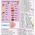 How Much? How Many? Worksheet   Free Esl Printable Worksheets Made | How Many How Much Worksheets Printable
