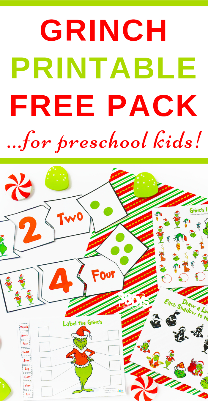 How The Grinch Stole Christmas Printables | Free Homeschool | Free Printable Grinch Worksheets