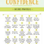 How To Increase Kids Self Confidence | Optimistic Spark | Self Esteem Printable Worksheets For Kids