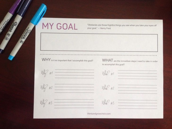 Hopes And Dreams Printable Worksheet