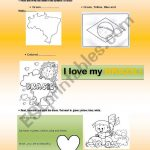 Independence Day In Brazil – Esl Worksheetmiriamgoshinha | Brazil Worksheets Free Printables