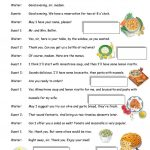 Italian Restaurant Worksheet   Free Esl Printable Worksheets Made | Italian Worksheets For Beginners Printable