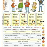 It's Cool To Be Different   Comparative Worksheet   Free Esl   Comparative Worksheets Printable