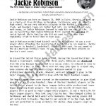 Jackie Robinson   Esl Worksheetheidou | Free Printable Worksheets On Jackie Robinson