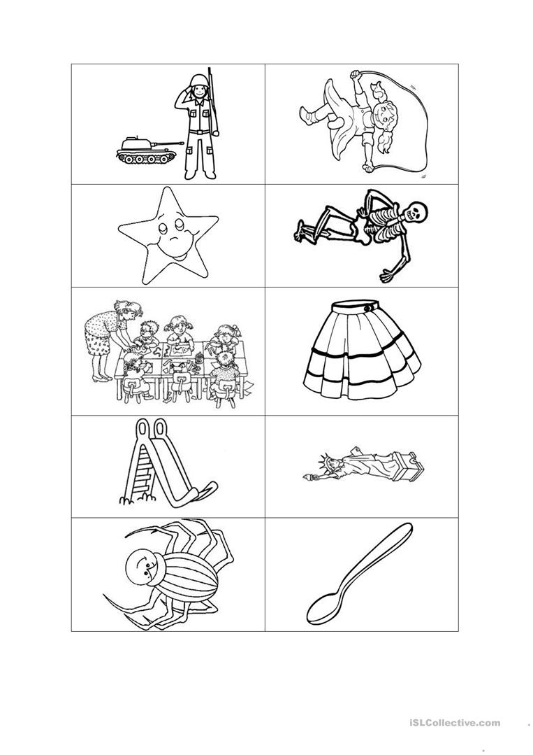 Jolly Phonics Method Letter S Worksheet - Free Esl Printable | Jolly Phonics Worksheets Free Printable