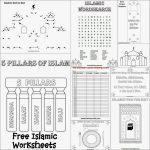 Karima's Crafts: Islamic Placemat And Worksheets   30 Days Of | Ramadan Worksheets Printables