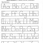 Kindergarten Alphabet Worksheets Printable | Alphabet And Numbers | Alphabet Practice Worksheets Printable