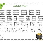 Kindergarten Alphabet Worksheets – With Workbooks Also Literacy For | Alphabet Worksheets For Preschoolers Printable