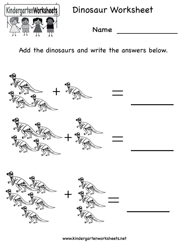 Kindergarten Dinosaur Worksheet Printable | Occupational Therapy <3 | Dinosaur Printable Worksheets