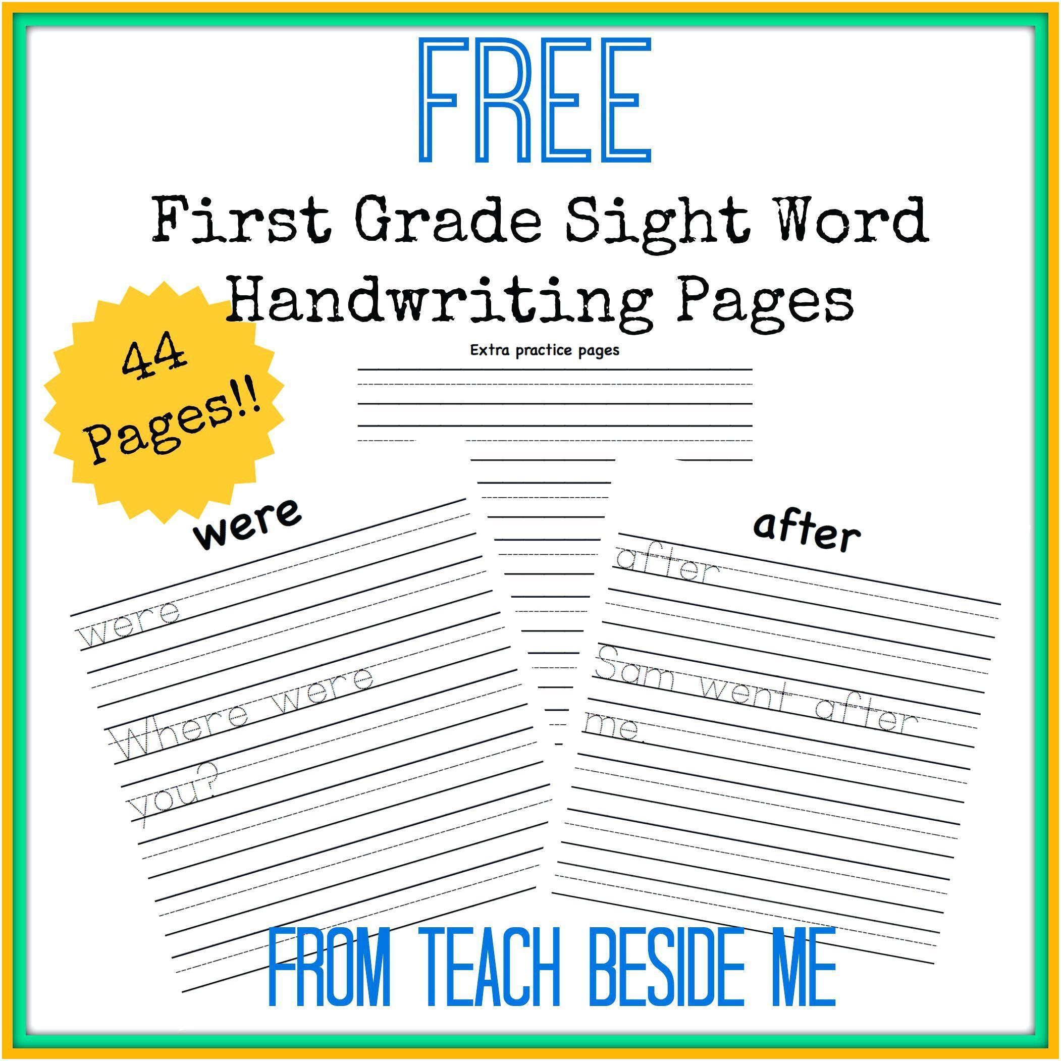 Kindergarten: Easy Esl English Reading Comprehension Worksheets | Free Printable 1St Grade Handwriting Worksheets