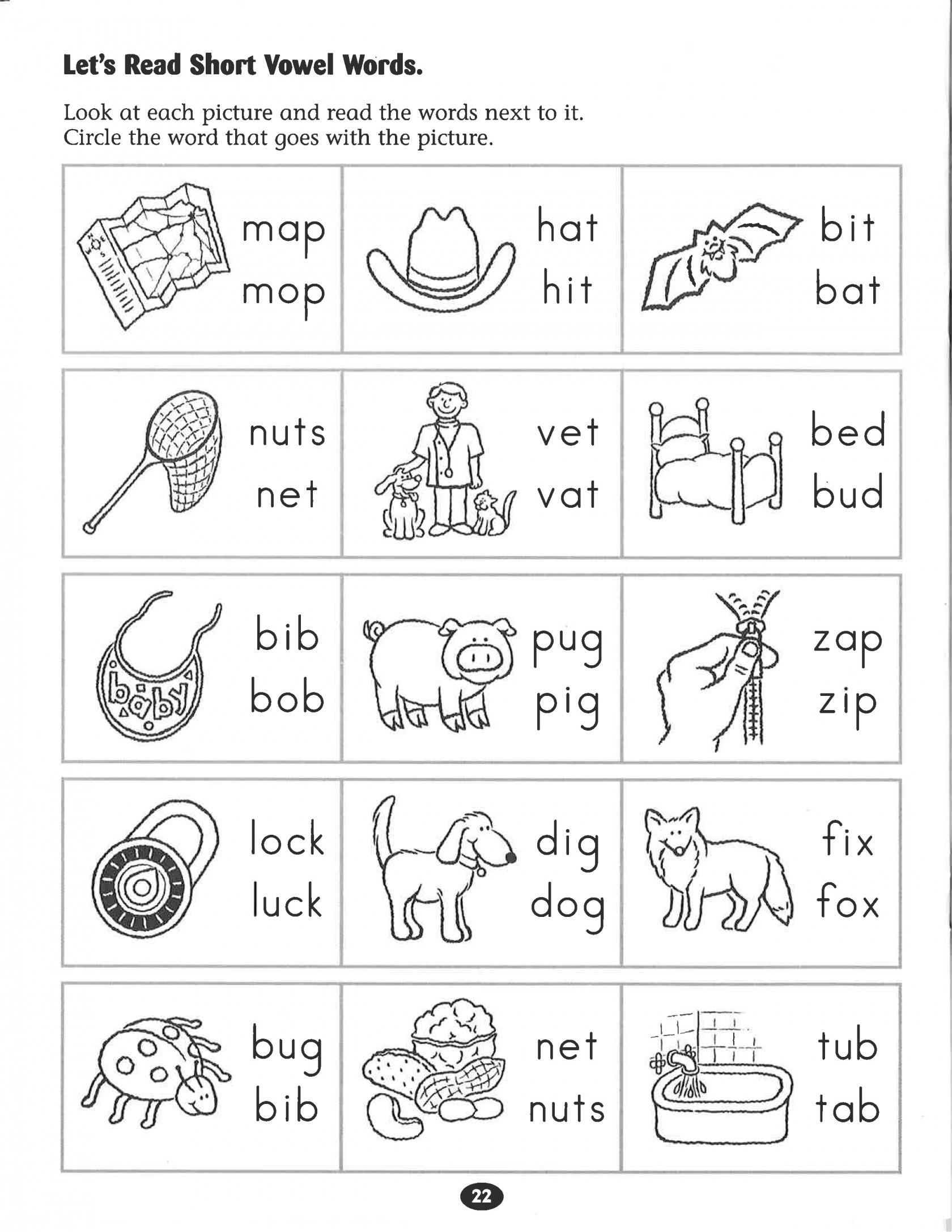 Kindergarten Phonics Worksheets Inspirational Kindergarten Free   Free Printable Grade 1 Phonics Worksheets