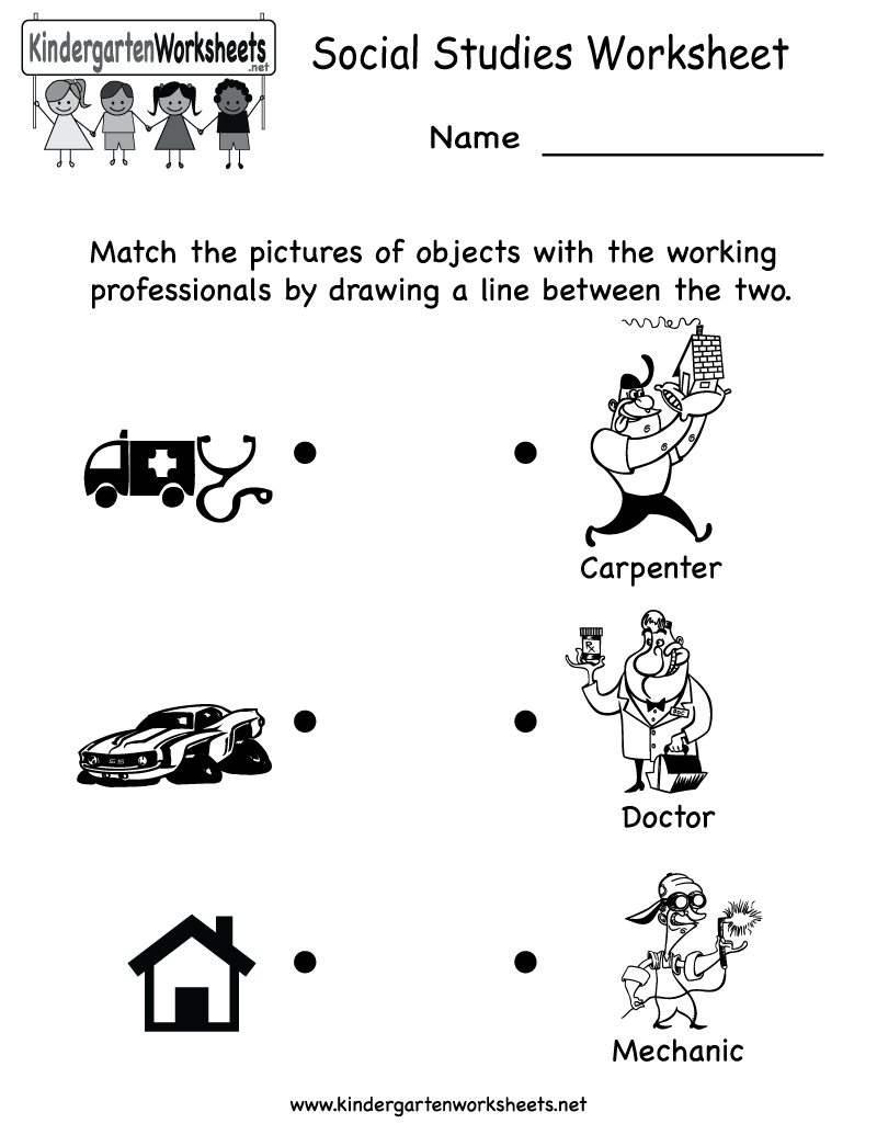 Kindergarten Social Studies Worksheet Printable | Worksheets (Legacy | Free Printable Social Studies Worksheets