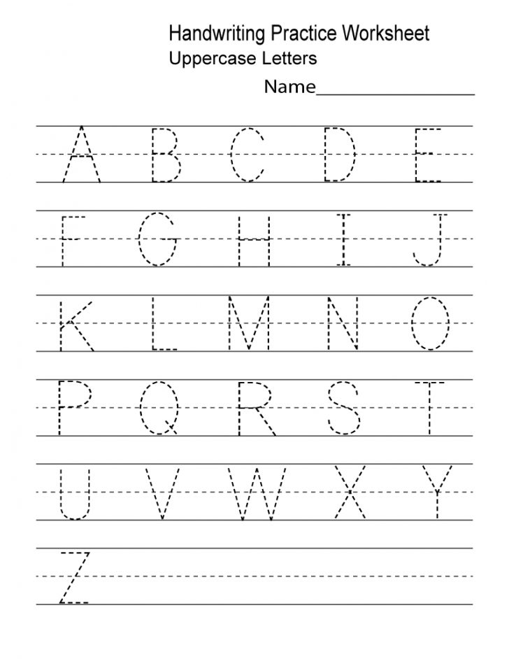 Printable Handwriting Worksheets Pdf