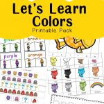 Learning Colors With Fun Color Themed Printable Worksheets   Fun | Learning Colors Printable Worksheets