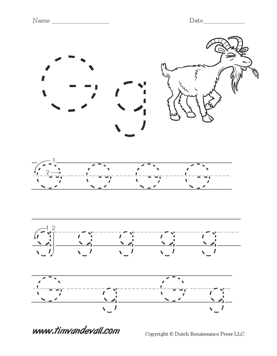 Letter G Worksheets | Preschool Alphabet Printables | Letter G Printable Worksheets
