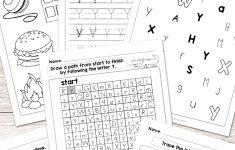 Letter Y Worksheets – Alphabet Series – Easy Peasy Learners | Printable Letter Worksheets