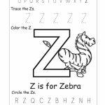 Letter Z Worksheets | Kiddo Shelter | Letter Z Worksheets Free Printable