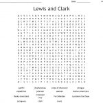 Lewis And Clark Word Search   Wordmint | Lewis And Clark Printable Worksheets