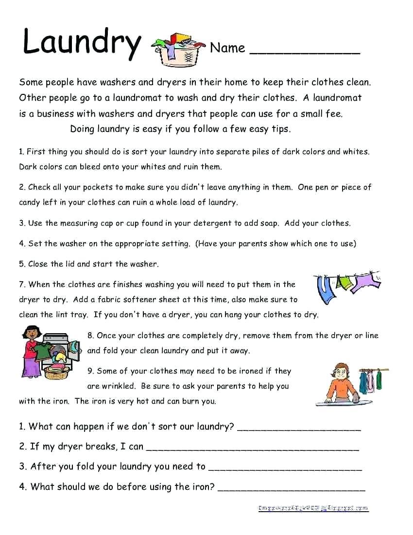 Life Skills Worksheets – Karyaqq.club - Free Printable Life Skills | Free Printable Life Skills Worksheets For Adults
