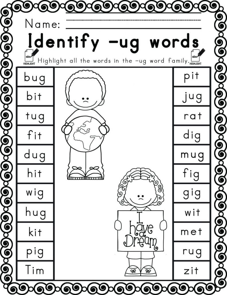Martin Luther King Worksheets Free Excel Kindergarten Science - Free | Free Printable Martin Luther King Worksheets For Kindergarten