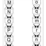 Match Uppercase And Lowercase Letters – 13 Worksheets / Free | Abc Matching Worksheets Printable