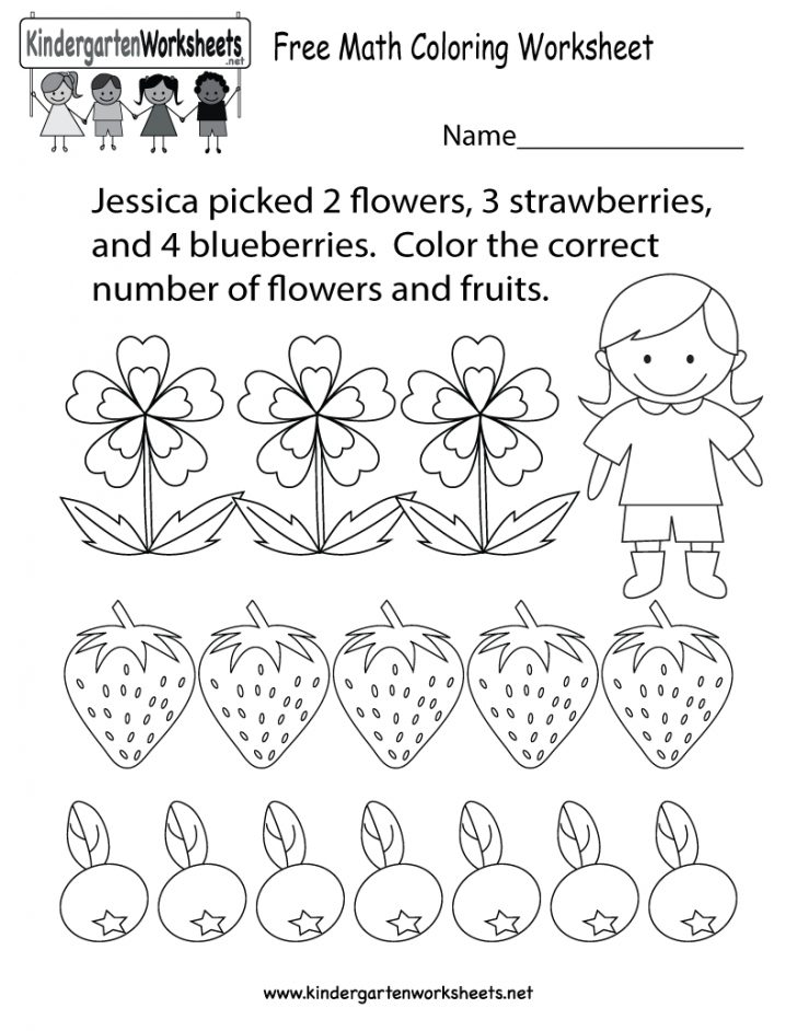 Printable Math Coloring Worksheets