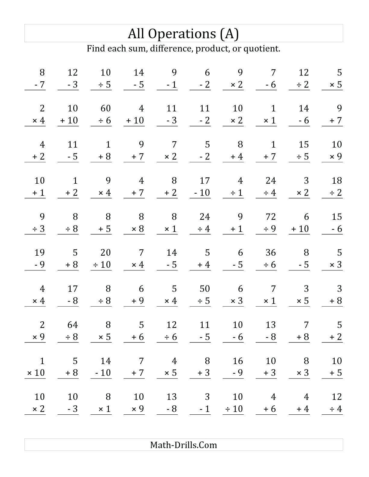 Math Worksheet: Free Colornumber Worksheets Printable Math | Touchpoint Math Worksheets Printable