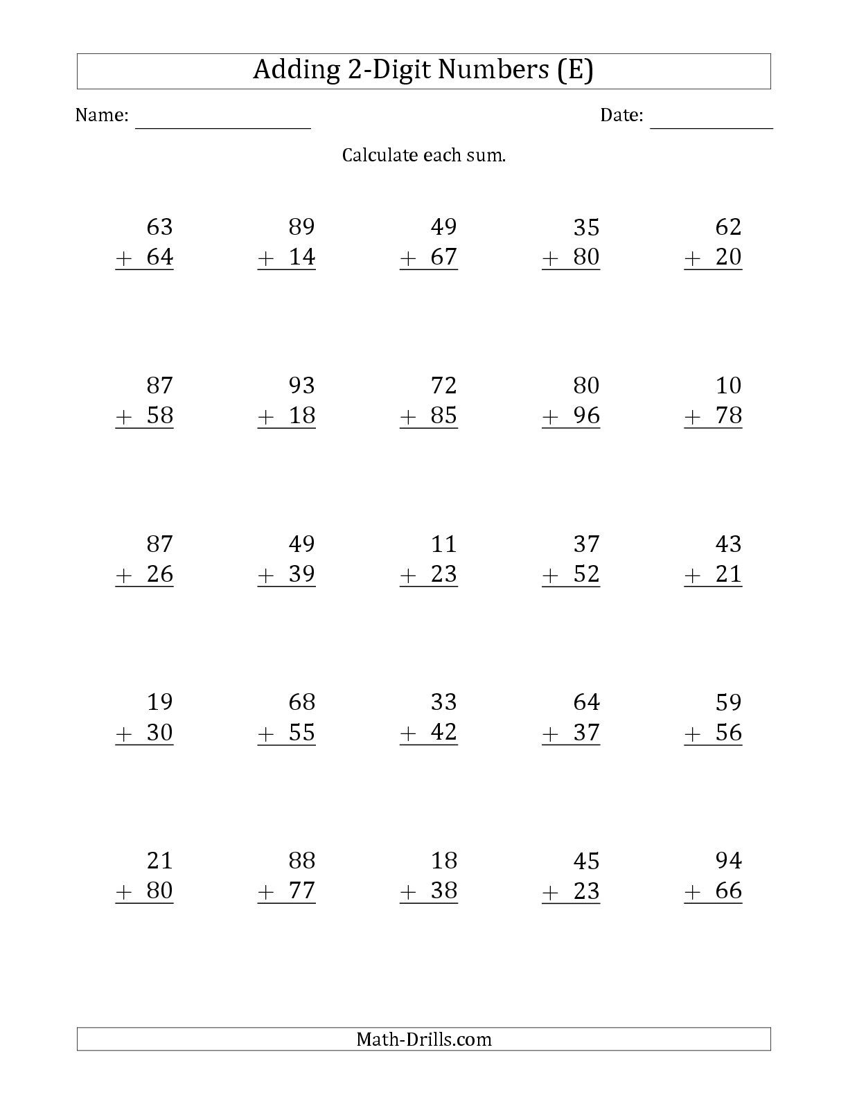 Math Worksheet: Touch Math Worksheets. Grade 5 Multiplication | Touch Math Printable Worksheets
