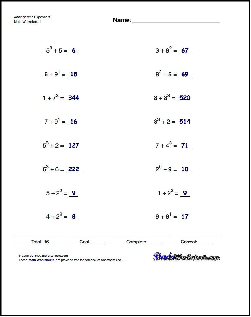 Math Worksheets For 6Th Grade Free Printable The Best Algeb   Free Printable Order Of Operations Worksheets 7Th Grade