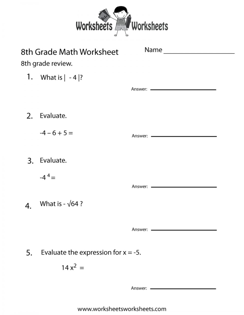 Math Worksheets Printable Www Mathworksheets4Kids Staggering Com | Printable Math Worksheets Www Mathworksheets4Kids Com