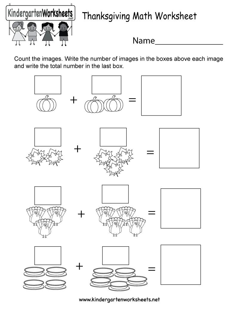 Math Worksheets Thanksgiving Free Printable Printables Worksheet For | Math Worksheets Thanksgiving Free Printable