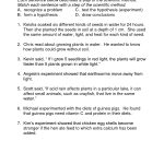 Middle School Scientific Method Worksheet | Science Materials | Free Printable High School Science Worksheets