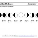 Moon Phases Worksheet Printable | Study The Moon Cycle With Our | Phases Of The Moon Printable Worksheets