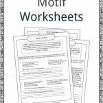Motif Examples, Definition And Worksheets | Kidskonnect | Printable Literature Worksheets