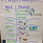 Multiple Meaning Words Anchor Chart | First Grade Rocks | Multiple | Free Printable Multiple Meaning Words Worksheets