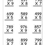Multiplication Worksheets For 5Th Grade | Worksheetfun   Free | Fifth Grade Printable Worksheets