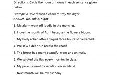 3Rd Grade English Worksheets Printable