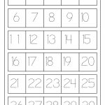 Number Tracing 1 30   Review Work | Teaching: Math | Pinterest | Free Printable Tracing Numbers 1 20 Worksheets