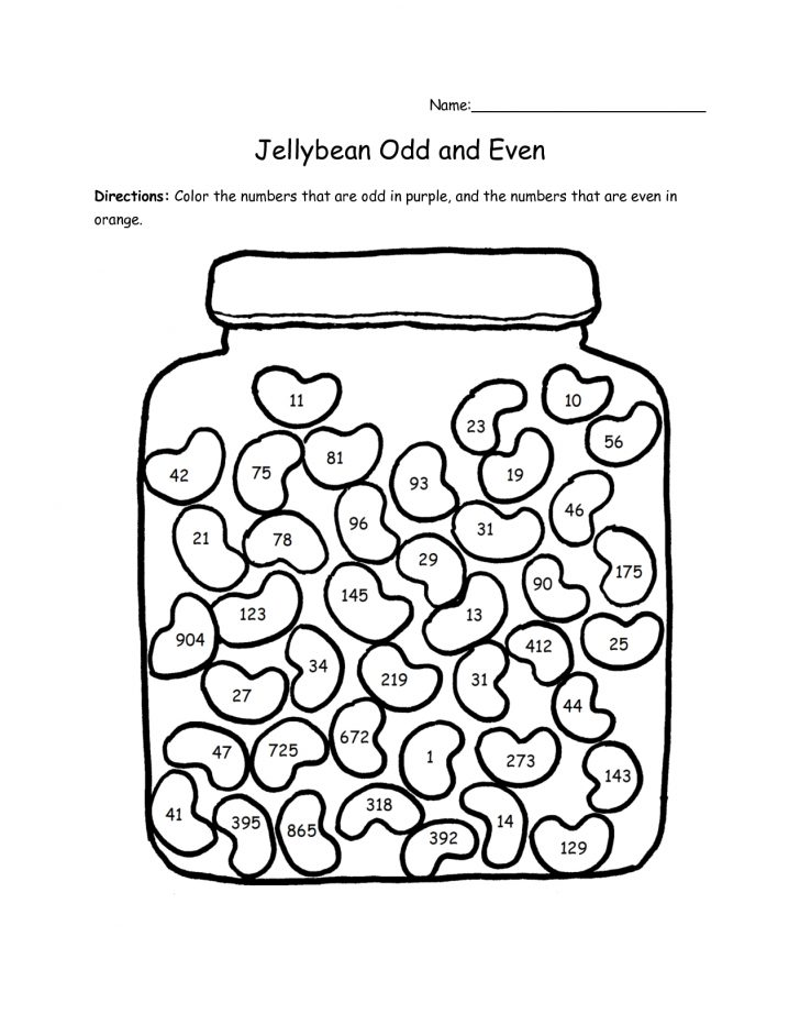 Free Printable Odd And Even Worksheets