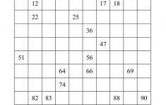 Free Printable Blank 100 Chart Worksheets