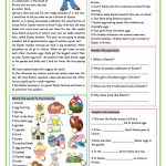 Our Easter Worksheet   Free Esl Printable Worksheets Madeteachers | Free Printable Easter Reading Comprehension Worksheets