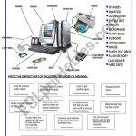 Parts Of The Computer   Esl Worksheetsilvina Joaquina | Parts Of A Computer Worksheet Printable