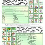 Past Continuous Tense *** With Key *** Fully Editable Worksheet | Past Progressive Tense Worksheets Printable