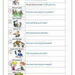 Past Continuous Tense Worksheet   Free Esl Printable Worksheets Made | Past Progressive Tense Worksheets Printable