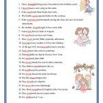 Past Simple   Irregular Verbs Worksheet   Free Esl Printable | Free Printable Irregular Verb Worksheets